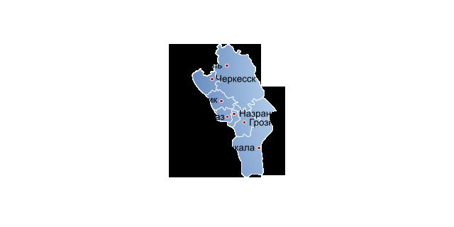 распространение в городах северо-западный